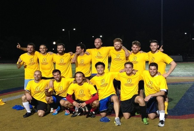 2014 Men's Summer Soccer Champions